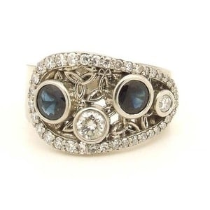 Celtic+Diamond+Sapphire+Triquestra+Ring