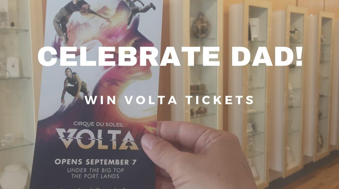 Celebrate Dad Win Volta Tickets